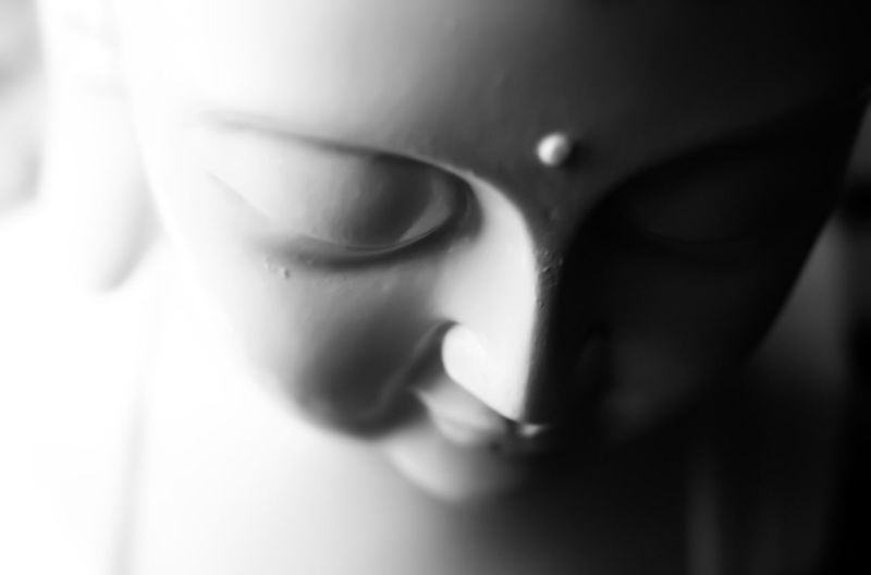 Buddha Buddah Buddah Head BUDDAH BUDDIES..... Sculpture Of Buddah Buddah Statue Soft Focus Bnw Blackandwhite Photography Black And White Collection  Black And White Photography