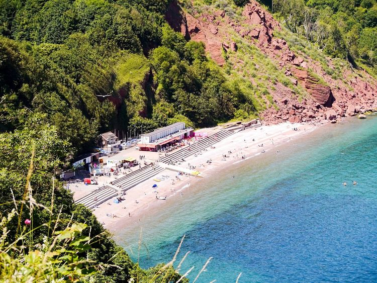 Looking down over Babbacombe beach, Torquay, Devon, UK. Beach Sea High Angle View Tree Sand Water Nature Vacations Outdoors Travel Destinations Travel Large Group Of People Beauty In Nature Nautical Vessel Day Scenics Forest People Mountain (null)EyeEm Gallery EyeEm Best Shots EyeEmNewHere First Eyeem Photo EyeEmBestPics Sommergefühle