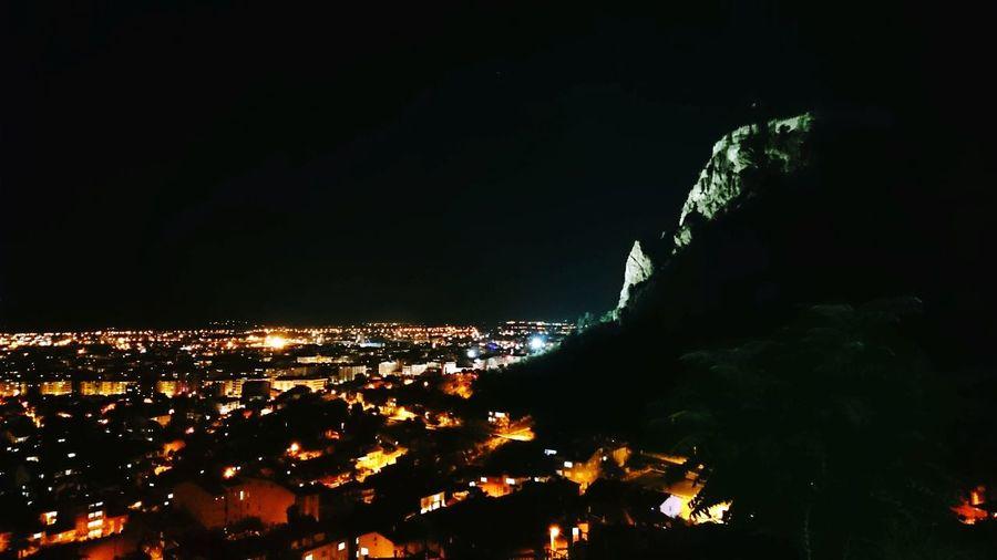 City Lights Castle Night EyeEmNewHere Hitit Frigya Medeniyet