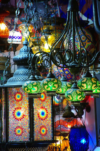 Flashback 2011 Istanbul Turkey Pentax K20d Lamps Colorful Turkish Lamp Color Of Life Colour Of Life