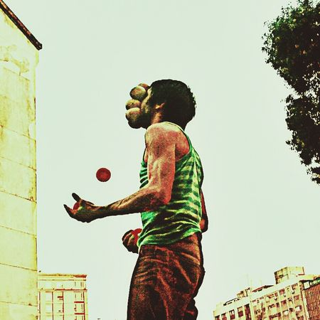 Streetart Streetperformer Streetperformance Emography ..life Is Burning Bright Portrait Streetphoto_color Streetphotography