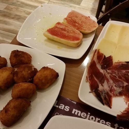 Madrid Tapas España 38degrees NeverForget Golocal Foodporn Tastyfood