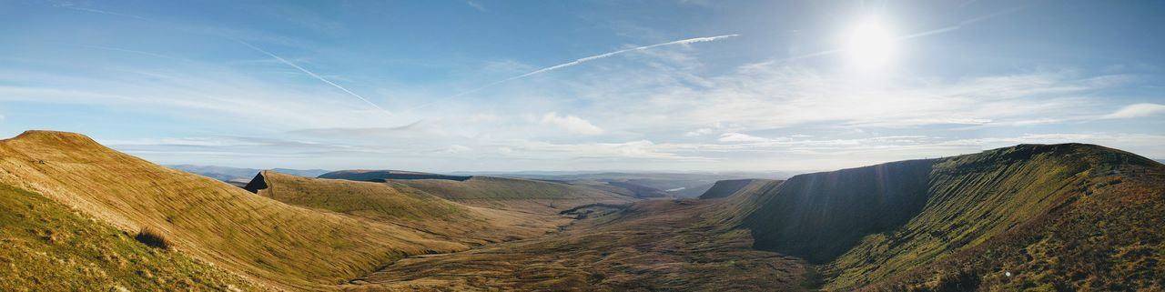 EyeEm Selects Sky Cloud - Sky Landscape Nature Scenics Beauty In Nature Rural Scene Outdoors No People Day Freshness Beauty Googlecamera Google Pixel Wales Brecon Beacons