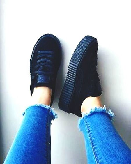 Puma Creepers with black sole. To die for. Creepers Puma Shoes