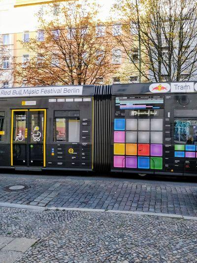 Tram Machines Red Bull