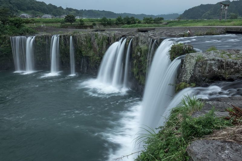 Waterfall Motion Long Exposure Water Nature Beauty In Nature River Japan Eye Em Nature Lover
