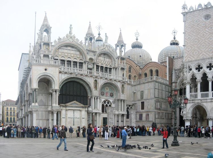 Photos of Venice, Italy 2010 Adult Adults Only Architecture Building Exterior Day Dome Large Group Of People Outdoors People Place Of Worship Religion Sculpture Tourism Travel Destinations