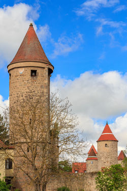 Towers of Dinkelsbühl Ancient Architecture Architecture Building Exterior Built Structure Cloud - Sky Dinkelsbuhl Dinkelsbuhl Germany History No People Outdoors Tower Towers Turm Türme  Vertical