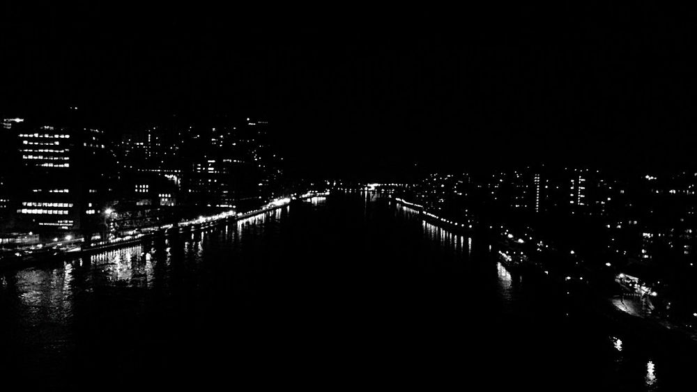 New York City of Dreamers Nightphotography Blackandwhite Photography Taking Photos From My Point Of View From Above  New York City NYC Photography FDR Drive Roosevelt Island Black And White Night Lights City Lights Taking Photos Urban Photography Hello World Urbanphotography Check This Out Getting Inspired United States View From Above Reflection Light And Shadow Fine Art Photography Monochrome Photography