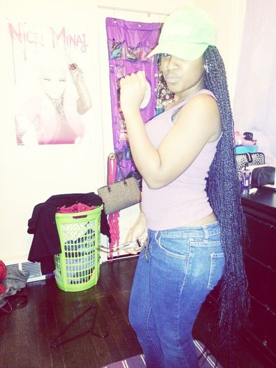 Finna Head Out , Not Finished Gettin Dressed Tho Lbdeads