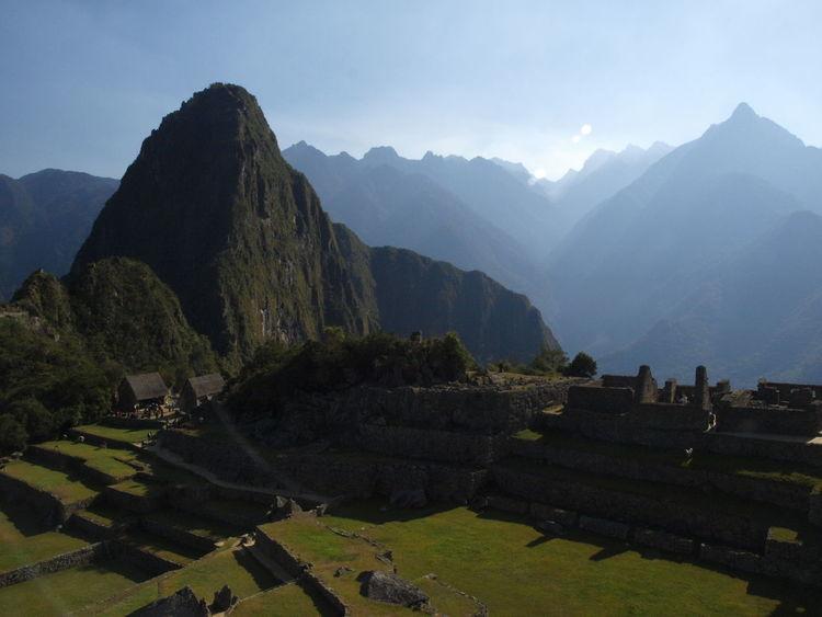 Ancient Architecture Ancient Civilization Macchu Picchu Mountain Outdoors Peru Sky Tourism Tourist Attraction  Travel Travel Destinations