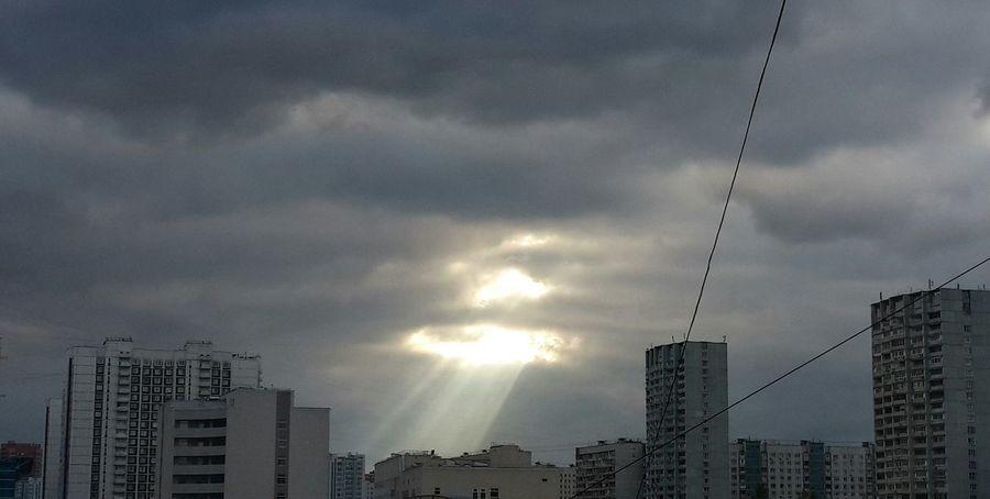 Cloud - Sky City Nature Sunny Rays October 2016 Nature Beatiful Sky
