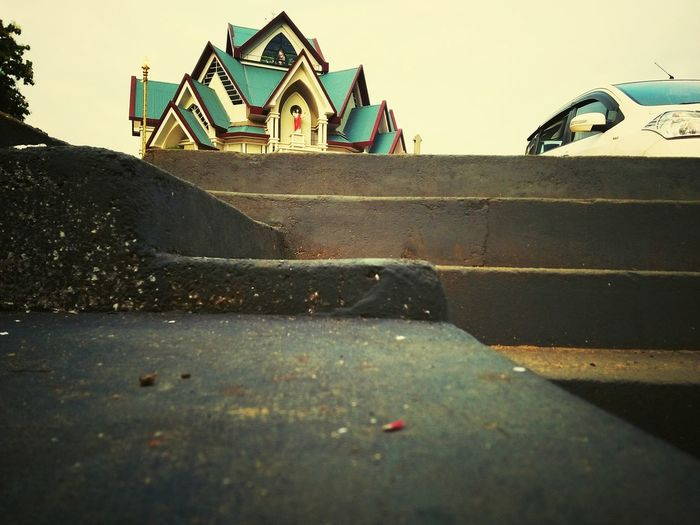Architecture No People Day Sky Outdoors Building Exterior Built Structure Church Architecture Thodupuzha Hometown Pride First Eyeem Photo