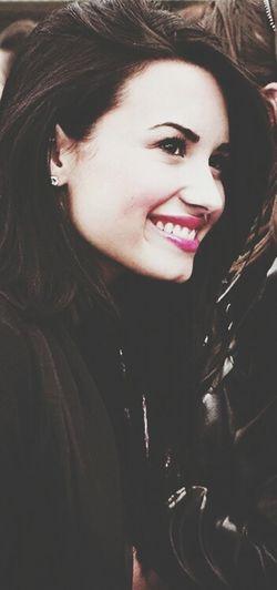 eu te amo tanto ? DemiLovato Smile Smiling Love