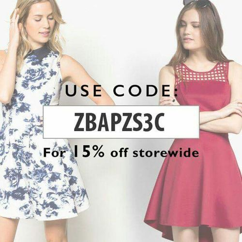 Hello World Check This Out ZaloraPH Discount Code Onlineshopping Philippines Great Deals Sale http://www.zalora.com.ph