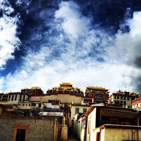 Songzanling monastery The Songzanlin Monastery Tibet Shangri-La Shangrila Tibetan Buddhism
