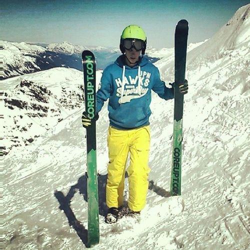 Ski Meribel Coreupt Superdry summer sunnyday ValThorens poudreuse happy ^^