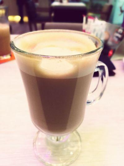 Always Be Cozy Drink Latte Milk Warm Feeling