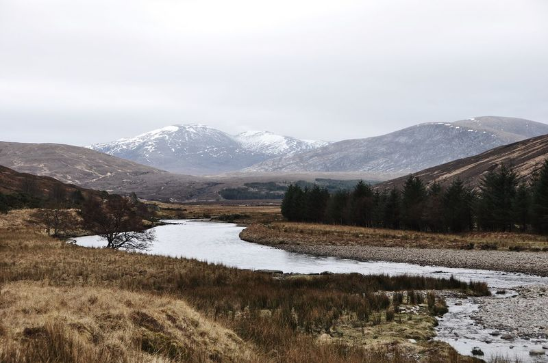 Scottish highlands stream EyeEmNewHere Landscape_Collection River View Riverside Scotland TheWeekOnEyeEM Travel Winter Beauty In Nature Landscape Mountain Mountain Range Nature No People Outdoors River Riverscape Scenics Scottish Highlands Snow Stream Tranquil Scene Tranquility Travel Destinations Water EyeEmNewHere