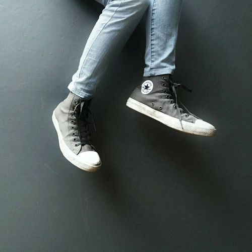 Two Is Better Than One Person Shoe Footwear Human Foot Canvas Shoe Casual Clothing Fashionable Converse Converse All Star Chuck Taylor
