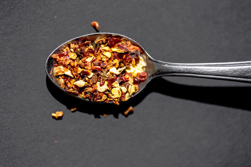 chili spice on a spoon Backgrounds Blur Chili  Chili Pepper Close-up Cooking Eye4photography  EyeEm Gallery Foodphotography Grey Habanero Habanero Pepper Hot Ingredients Kitchen Utensils Light And Shadow Pepper Red Spice Spoon Still Life StillLifePhotography Surfaces And Textures Textures And Surfaces