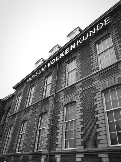 Past taught you to become wiser The Places I've Been Today Museum Architecture Leiden Netherlands Monochrome EyeEm Best Edits Bw_collection Mobilephotography