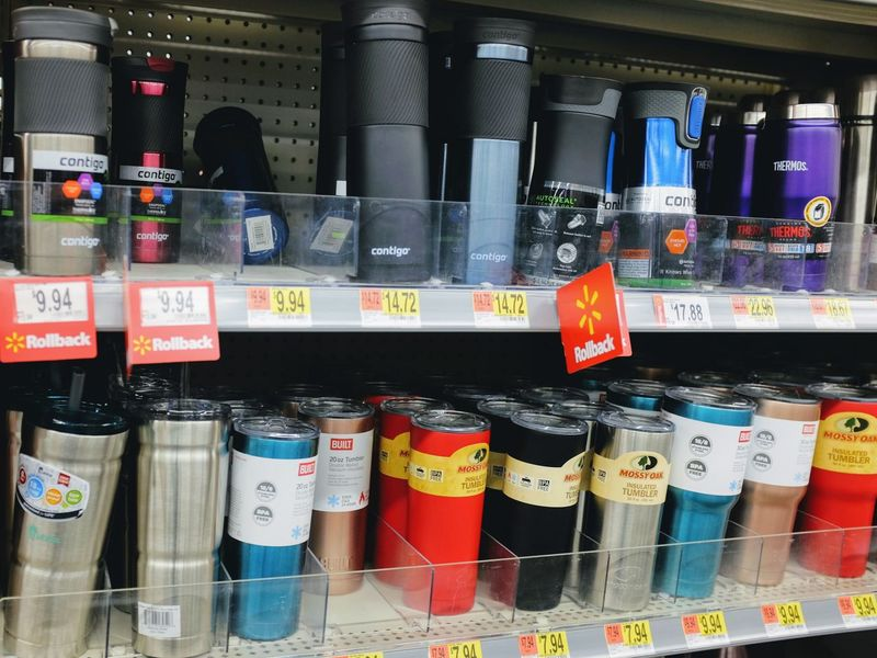Visual Journal November 2017 Fairbury, Nebraska http://www.businessinsider.com/walmart-top-sellers-in-every-state-2017-8 A Day In The Life Camera Work EyeEm Best Shots FUJIFILM X100S Rural America Shopping Visual Journal Always Taking Photos Arrangement Bottle Choice Coffecup Consumerism Cups And Mugs Day Drink Cups Eye For Photography Food For Sale In A Row Indoors  Large Group Of Objects Multi Colored No People Photo Diary Practicing Photography Price Tag Retail  S.ramos October 2017 Shelf Store Topseller Variation Walmart