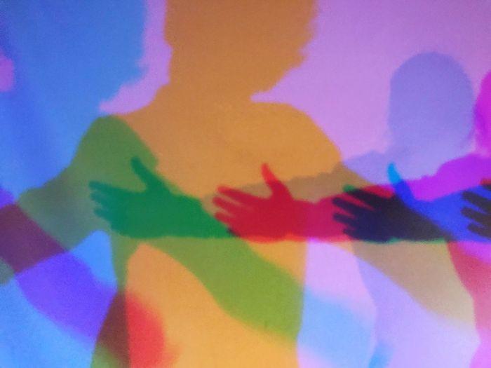 Close-up of rainbow