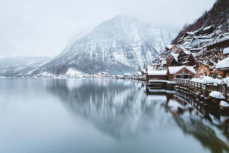 A report of my trips to explore the alpine winter. The white season is always full of photographic opportunities! Beauty In Nature Scenics - Nature Winter Wintertime Winter Wonderland Snow Snow Covered Village Alpine Landscape Alpine Lake Lake Lake View Hallstatt Reflection Reflections In The Water Reflection Lake Mist Misty Fog Landscape_Collection Landscape_photography Mood Captures Atmospheric Mood Outdoor Photography Exploring