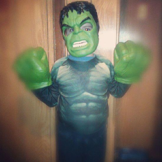 IncredibleHulk Hulk Green Glove mask halloween abs angryface