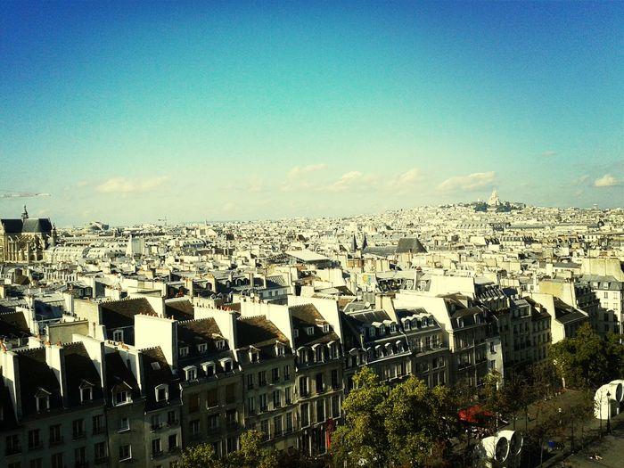 Sur Les Toits De Paris Beautiful City Wonderful View