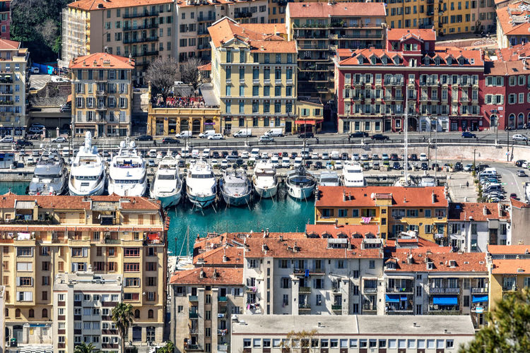 Architecture France NiceFrance Roof Sunny Travel Tree Architecture Boat Building Building Exterior Built Structure City Cityscape Colorful Day French Riviera No People Outdoors Port Residential Building Streetphotography Travel Destinations Water Yacht My Best Photo