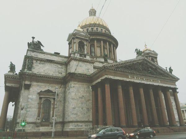 Saint Isaac's Cathedral Cathedral Saint-Petersburg Walking Around Enjoying Life Arhitecture