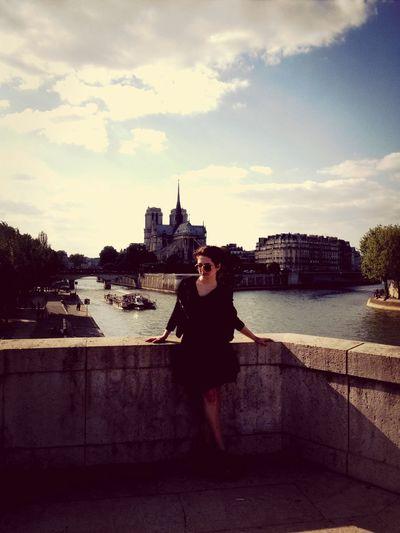 Paris Notre Dame De Paris Myself That's Me