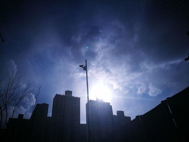 Sky Outdoors Free Time Sunshine ☀