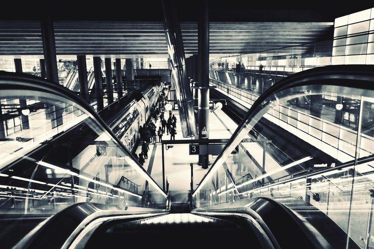 down Bnw_friday_eyeemchallenge Bnw_stairways