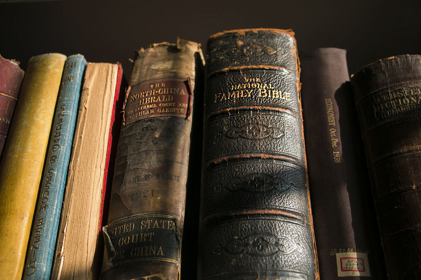 Antique Book Book Cover Bookshelf Close-up Collection Education Hardcover Book In A Row Indoors  Intelligence Large Group Of Objects Learning Library Literature No People Research Stack Still Life Studying Text Wisdom