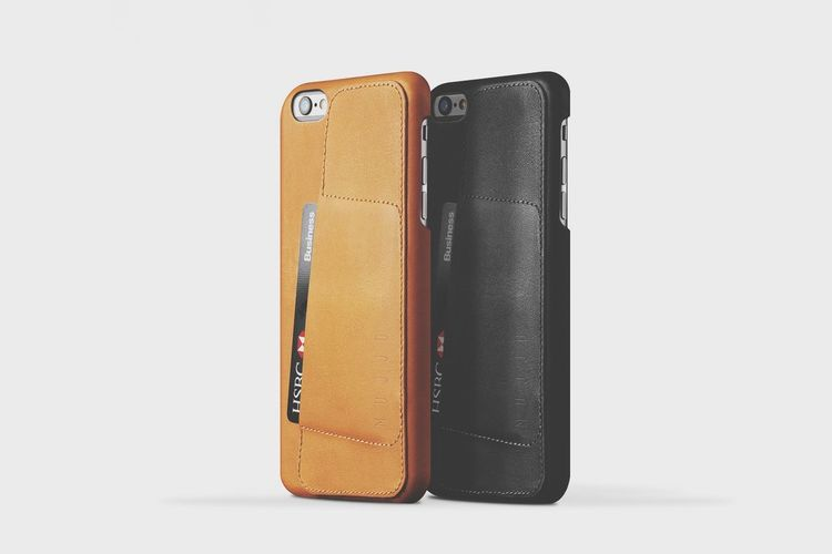 Mujjo Leather Wallet Case 80° for iPhone 6 & 6 Plus Mujjo Iphone6 Case Theredtriangle