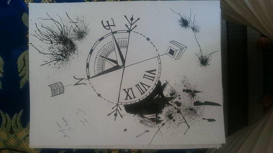Creative Art Pencil Tree Working ابداعي الامل . روح