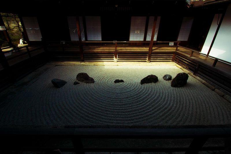 京都 石庭 禅 Relaxing