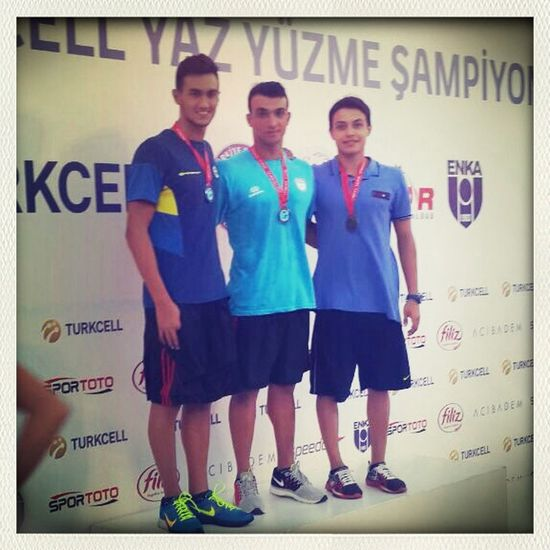 Champs Strong Swimming Nationals thats it!! İşte buna deger..