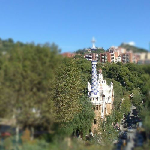 Le parc Güell