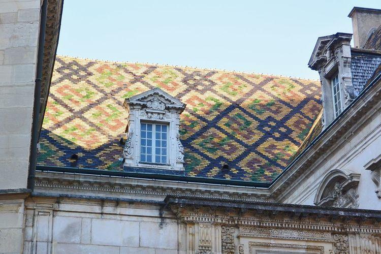 Hôtel De Vogüe Burgundy Rooftop Sunny Day Dijon By Day Collection