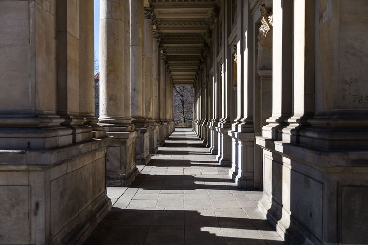 View Of Colonnade