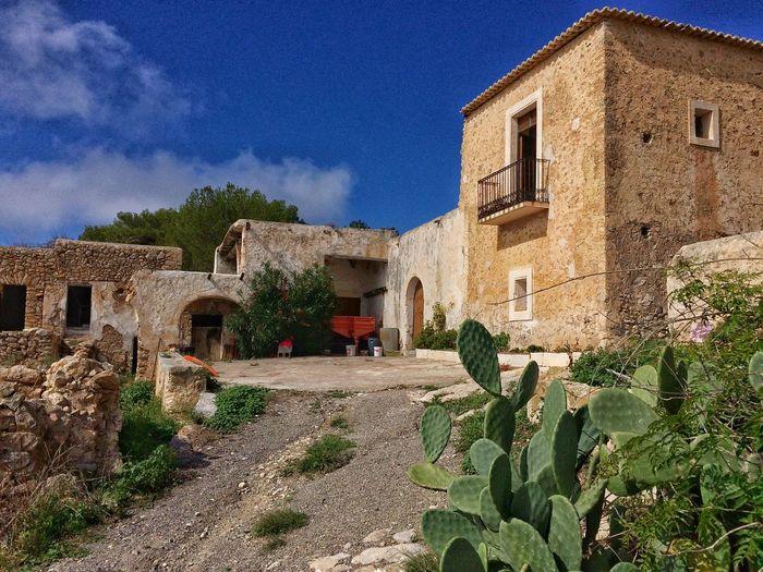 Rural Scenes Traditional House Ibiza Eivissa Architecture Rural Life Popular Art Mediterranean Village Tourism