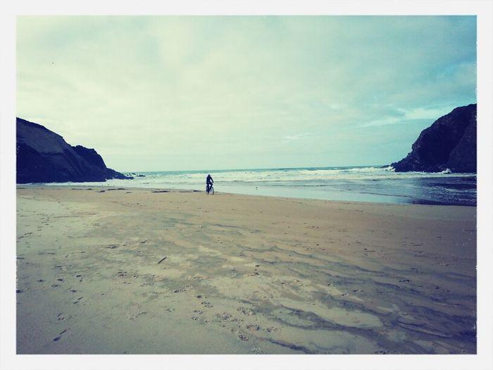 Portugal Riding Around Beach Walk