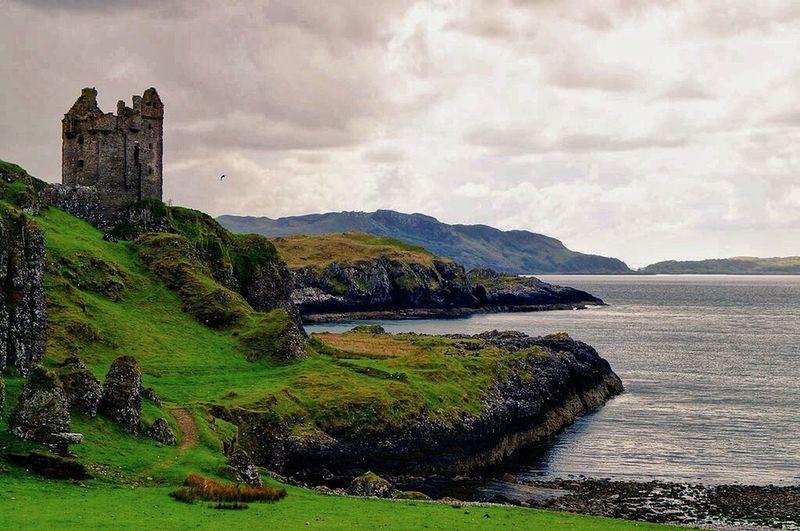 Gylen Castle on