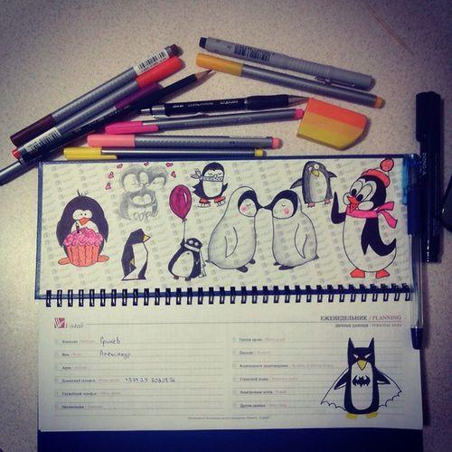 Penguins Penguin Notebook Love пингвины пингвин нежности вечертворчества прекрасное