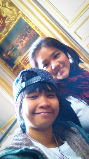 Me and my cute boss ever at Palace of Versailles. Selfie Versailles Palace France Travel