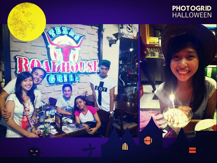 Halloween and Birthday feel. :) Thank you team :* Nareformat na ba ang True Friends? hahaha